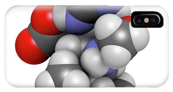 Peramivir Influenza Drug Molecule Phone Case by Molekuul