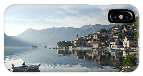 Perast Village In Montenegro IPhone Case