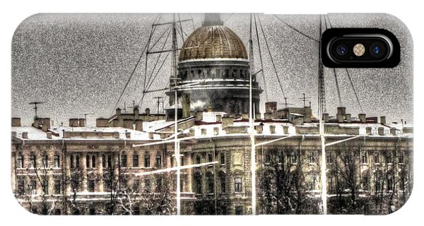 She iPhone Case - Peterburg Winter  by Yury Bashkin