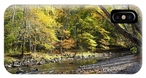 Philadelphia Landmark Pennypack Creek In Autumn IPhone Case