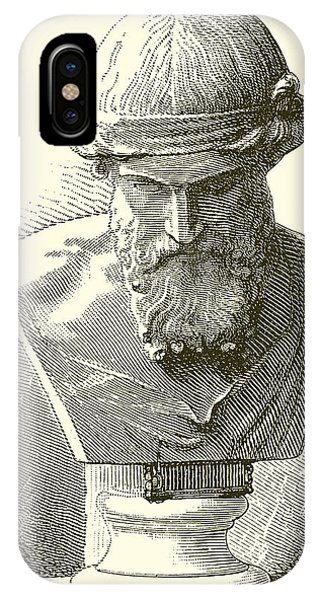 Ancient Rome iPhone Case - Plato  by English School