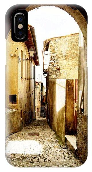 Poggio Catino Italy  IPhone Case