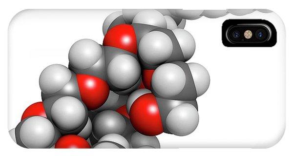 Polidocanol Sclerosant Drug Molecule Phone Case by Molekuul