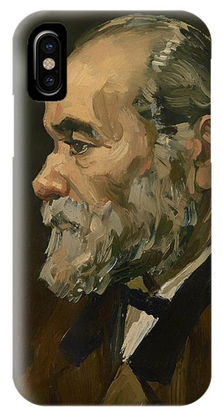 Portrait Of An Old Man IPhone Case
