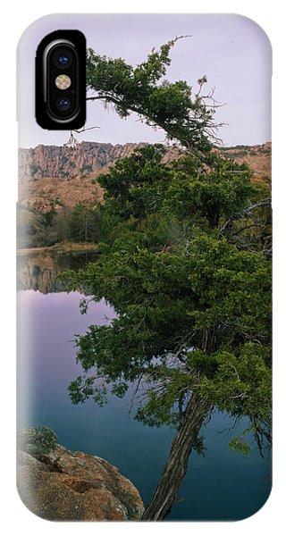 Post Oak Lake And Elk Mountain IPhone Case