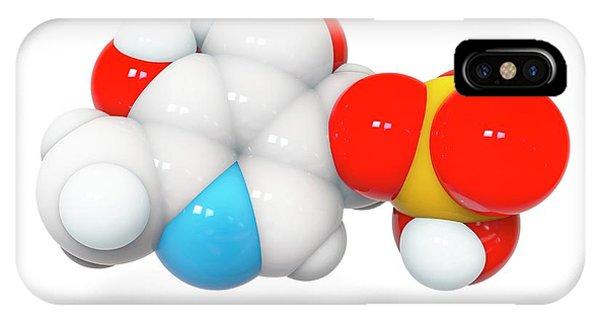 Pyridoxal Phosphate Molecule IPhone Case