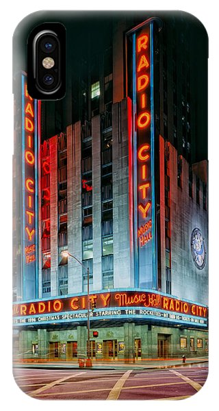 Rockettes iPhone Case - Radio City Music Hall by Mountain Dreams