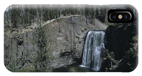 Rainbow Falls California IPhone Case