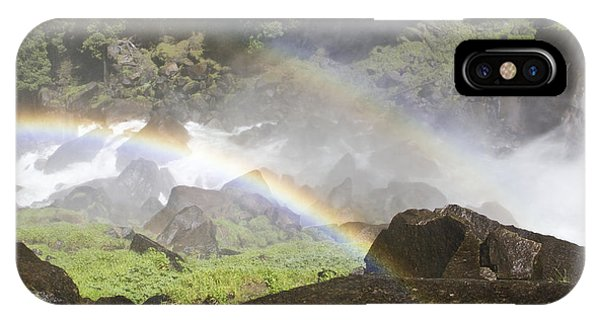 IPhone Case featuring the photograph Rainbow Twins by Priya Ghose