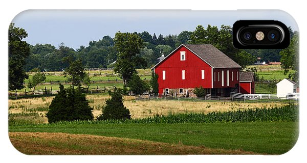Red Barn Gettysburg IPhone Case