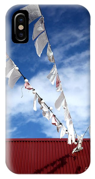 Red White Blue IPhone Case