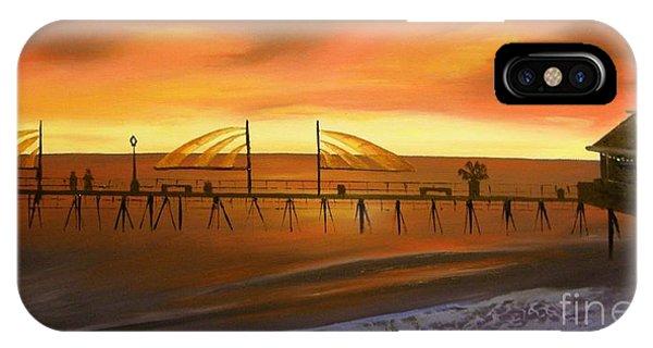 Redondo Beach Pier At Sunset IPhone Case