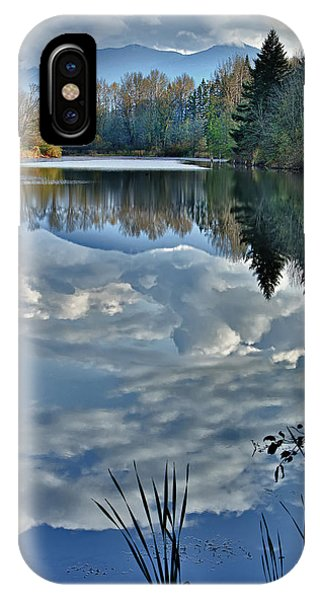 Reflections Of Autumn IPhone Case