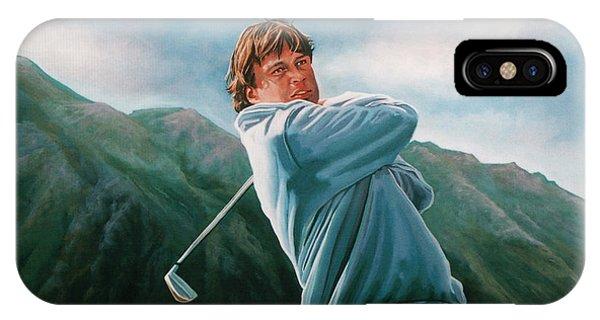 Golf iPhone Case - Robert Jan Derksen by Paul Meijering