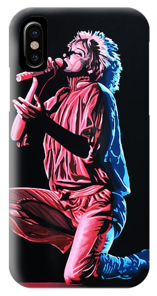 Cold iPhone Case - Rod Stewart by Paul Meijering
