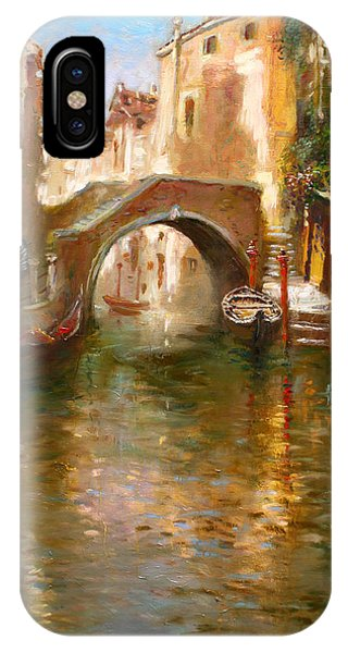 Arched iPhone Case - Romance In Venice  by Ylli Haruni