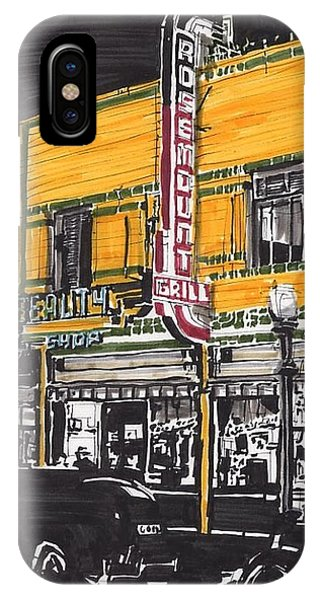 Rosemount Grill Phone Case by Paul Guyer