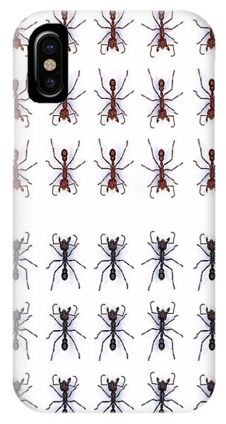 Rows Of Ants Phone Case by Gustoimages/science Photo Library