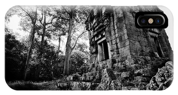 Ruin At Angkor Wat IPhone Case