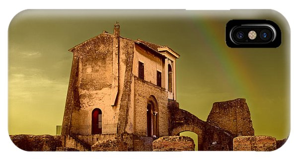 Ruin At Palatine Hill IPhone Case