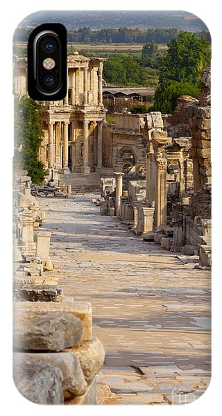 IPhone Case featuring the photograph Ruins Of Ephesus by Brian Jannsen