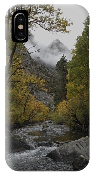 Rush Creek Aspen Trees Aerie Crag IPhone Case