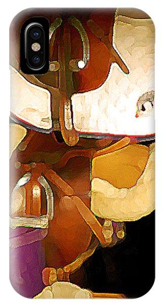 2 Saddles Bucket 14592 IPhone Case
