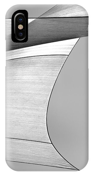 Uplift iPhone Case - Sailcloth Abstract Number 4 by Bob Orsillo