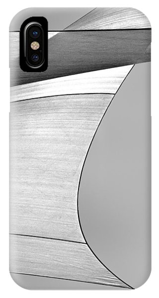 IPhone Case featuring the photograph Sailcloth Abstract Number 4 by Bob Orsillo