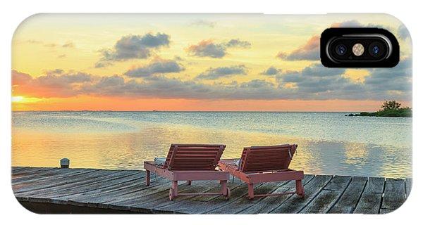 Belize iPhone Case - Saint Georges Caye Resort, Belize (pr by Stuart Westmorland