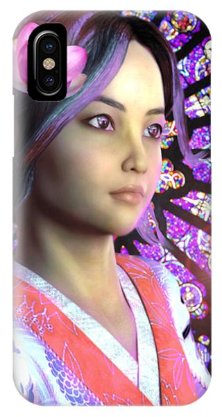 Saint Lucy Yi Zhenmei Of China IPhone Case