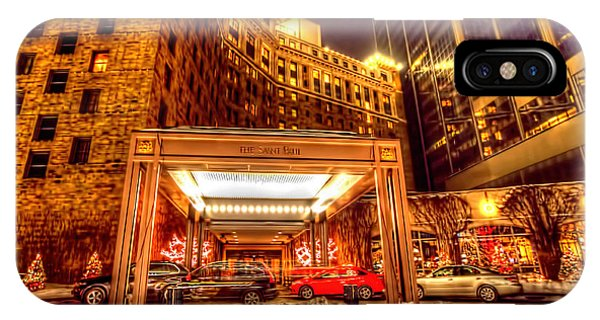 Saint Paul Hotel IPhone Case