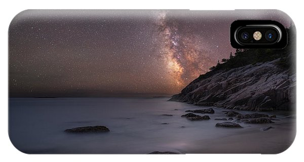 Michael iPhone Case - Sand Beach Acadia Milky Way by Michael Ver Sprill