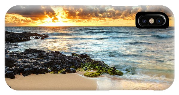 Sandy Beach Sunrise 7 IPhone Case