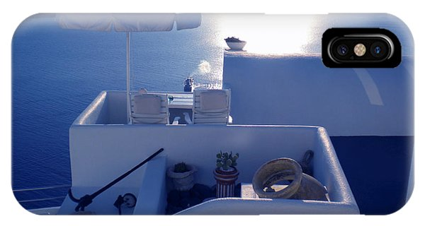 Santorini Island Greece IPhone Case