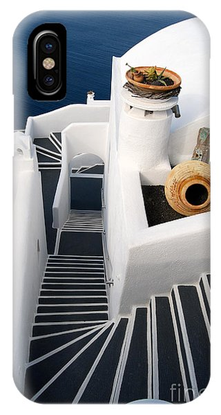 Santorini Steps IPhone Case