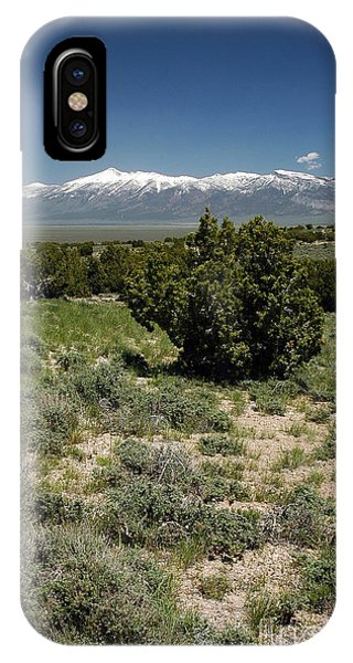 614p Schell Creek Range Nv IPhone Case