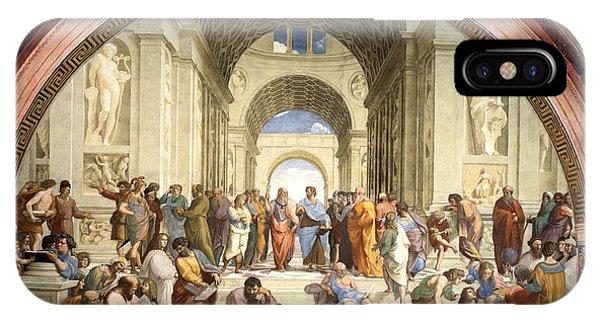 School Of Athens IPhone Case