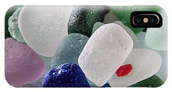 Sea Glass Mix IPhone Case