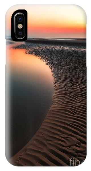 Seascape Sunset IPhone Case