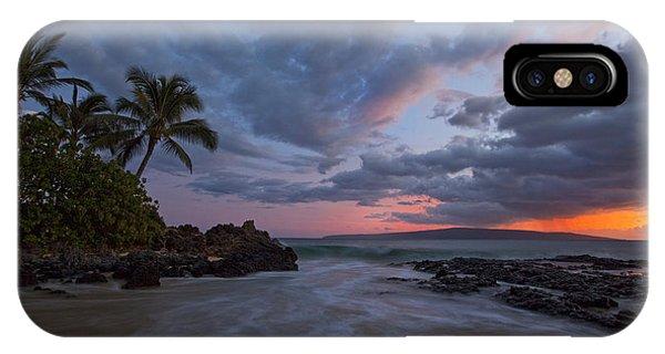 Secret Beach Sunset IPhone Case