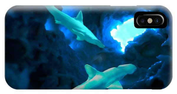 Shark Cave IPhone Case
