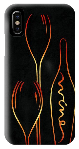 Simply Wine IPhone Case