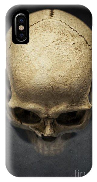 Skull iPhone Case - Skull  by Edward Fielding