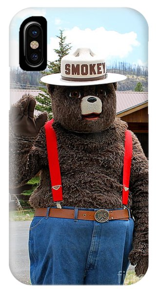 Smokey The Bear IPhone Case