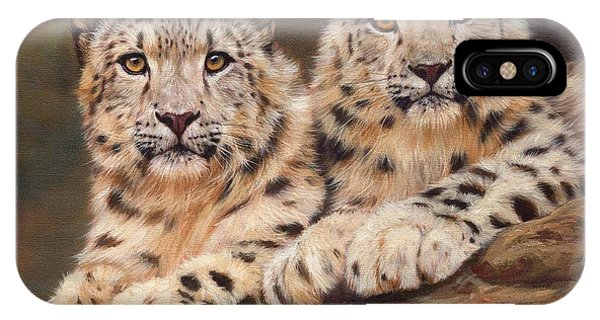 Snow Leopards IPhone Case
