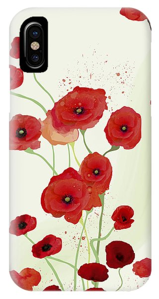 Sonata Of Poppies IPhone Case