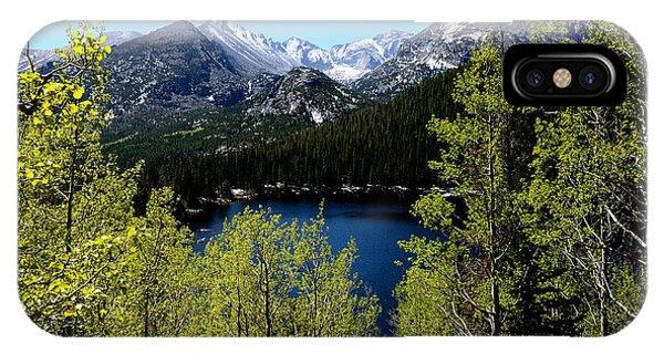 Spring At Bear Lake IPhone Case