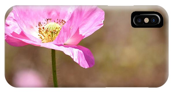 Spring Poppy Flower IPhone Case