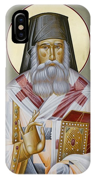 St Nektarios Of Aegina IPhone Case